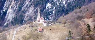 La chiesa di Zorzoi