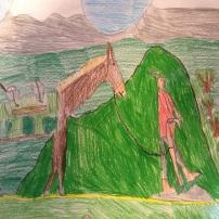 l'asino, caricato ad arte, diretto a Col dei Mich